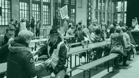Der Tag in Hessen Amazon Streik