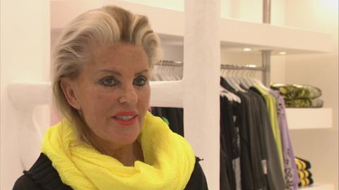 Modehändlerin Arlette Kaballo