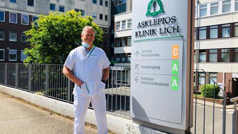 Jürgen Bremer, Betriebsrat der Asklepios-Klinik in Lich.