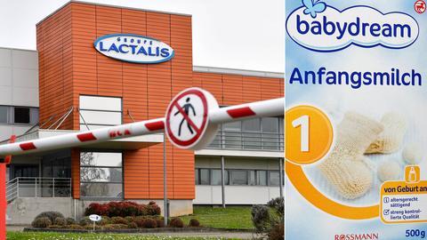 Babydream Milch, Produktionsgelände in Frankreich