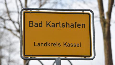 Bad Karlshafen Ortsschild