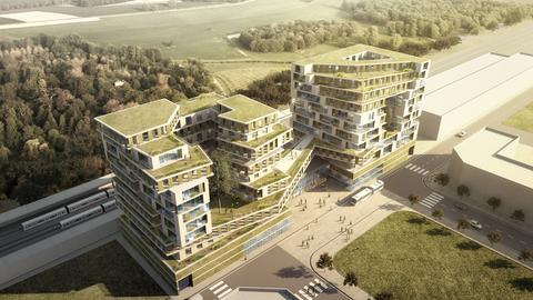 Entwurf Limburg Bahnhof