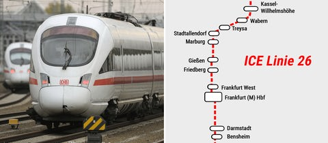 Bahnstrecke Kassel-Bensheim