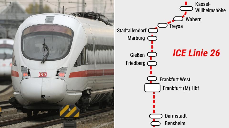 Preisschock Für Pendler Auf Neuer Ice Strecke Hessenschau