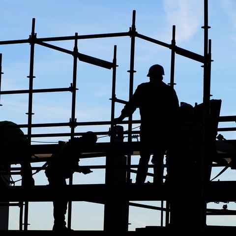 Bauarbeiter Frankfurt