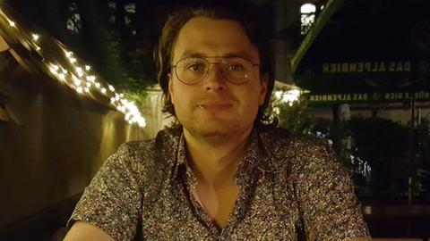 Mark Bienkowski, Student des Sozialrechts und der Sozialwirtschaft in Kassel
