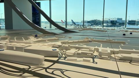Einblicke ins neue Besucherzentrum am Frankfurter Flughafen