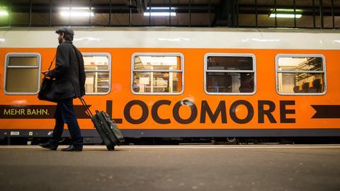Ein Locomore-Zug.