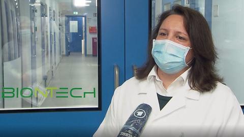 Valeska Schilling, Produktionsleitung bei Biontech in Marburg