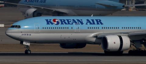 Boeing 777 der Korean Air