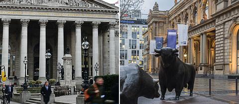 Börse London Frankfurt