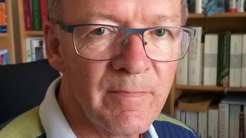 Der Vorsitzenden der Kalbacher BI, Jakob Brähler