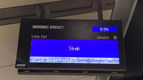 Busfahrer Streik