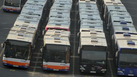 Busflotte in Wiesbaden