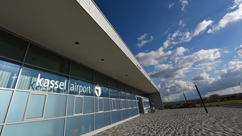 Der Airport Kassel
