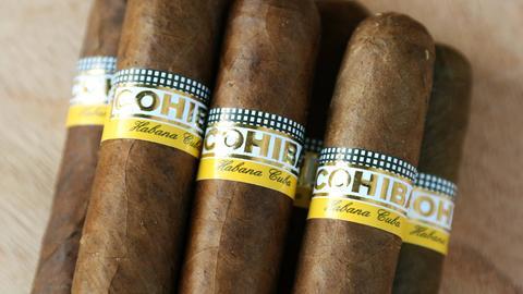 Zigarren der Marke Cohiba
