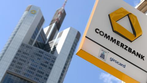 Die Zentrale der Commerzbank in Frankfurt