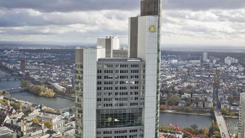 Commerzbank-Turm in Frankfurt