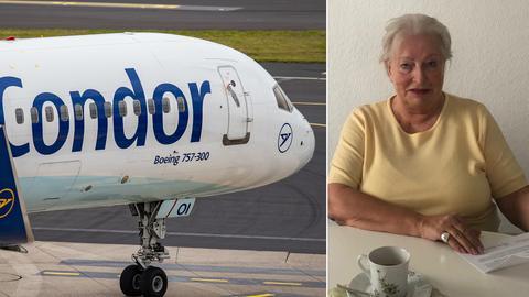 Bldkombo Condor-Flugzeug, Betroffene