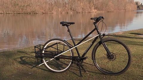Convercycle, ein zusammenklappbares Lastenrad