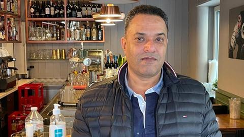 Gursahab Kotia in seinem Restaurant Swaab.