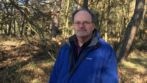 Wolfgang Dennhöfer vom BUND sieht Ausgleichsmaßnahmen kritisch.
