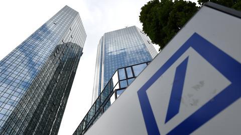 Deutsche-Bank-Hochhaus in Frankfurt