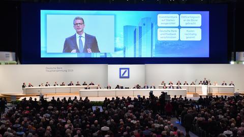 Deutsche-Bank-Hauptversammlung