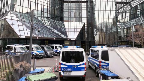 Razzia bei der Deutsche Bank