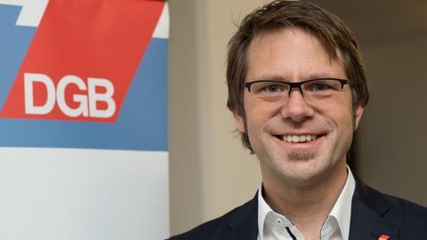 DGB-Vorsitzender Michael Rudolph