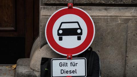Dieselverbot Symbolbild