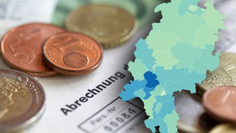 Große regionale Unterschiede beim Einkommen in Hessen