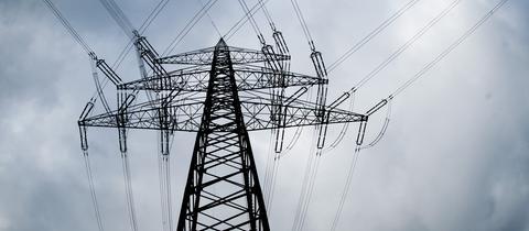Strommast einer Überlandleitung