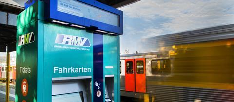 Neuer Fahrkartenautomat RMV