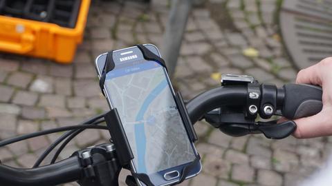 """Grüne Welle für Radler per """"SiBike"""" App - zumindest testweise in Marburg"""