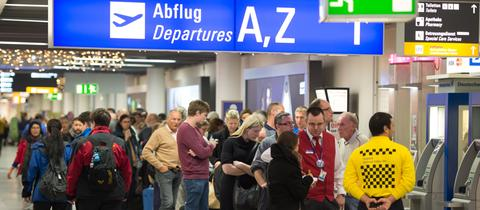 Flughafen Frankfurt Fraport Passagiere