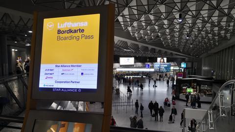 Flughafen Streik
