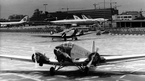 Zwei Junkers JU-52