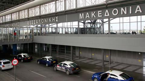 Der Macedonia-Airport in Thessaloniki