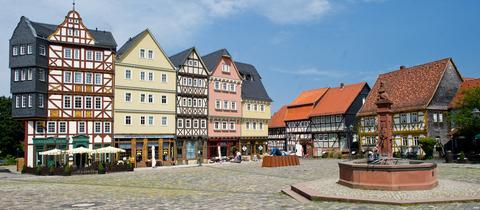 Historische Häuser im Hessenpark
