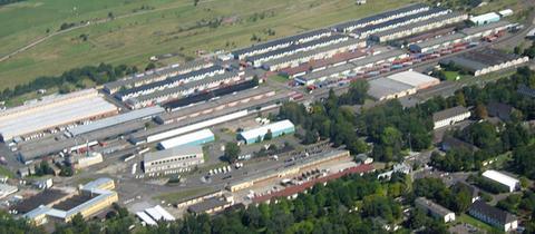 US-Depot in Gießen (Archivbild)