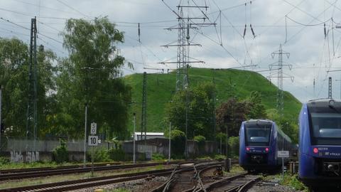 Chemie-Gelände in Frankfurt Griesheim
