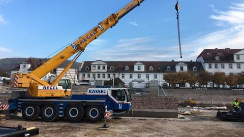 Hafenbecken Bad Karlshafen Stand Oktober 2018