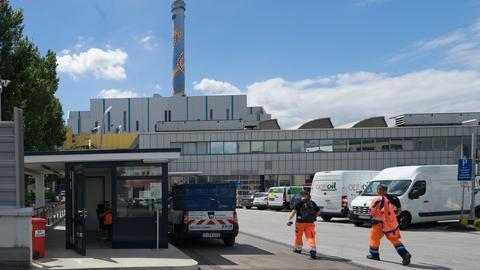 Derzeit nicht in Betrieb: Das Müllheizkraftwerk in Frankfurt