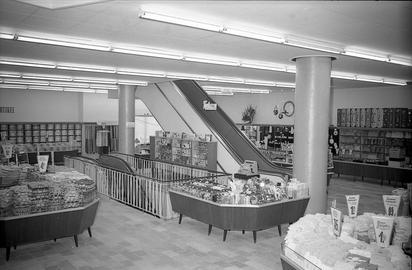 Das Kaufhaus Kerber wird im Jahr 1958 eröffnet.