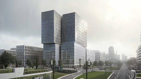 Hochhaus Europaviertel