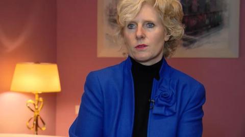 Frankfurter Hotelbetreiberin Sabine Gaumann