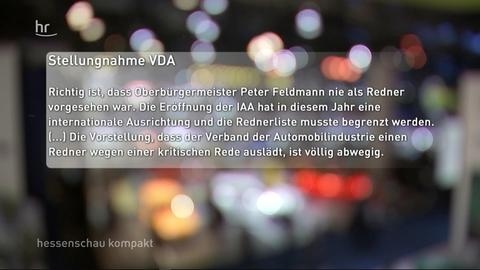 Stellungnahme VDA