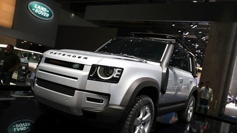 Der neu aufgelegte Land Rover Defender