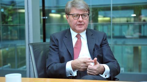 Theodor Weimer, der neue Frankfurter Börsenchef